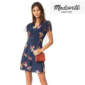 Madewell Silk Poppy Dress Size 12
